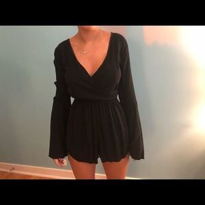 Abercrombie & Fitch long sleeve romper